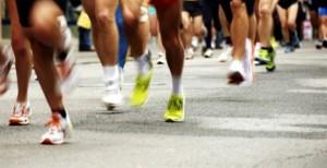 Wedstrijd hardlopen