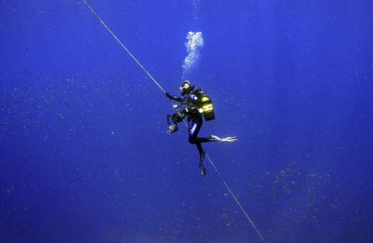 Eindelijk heb ik leren duiken!